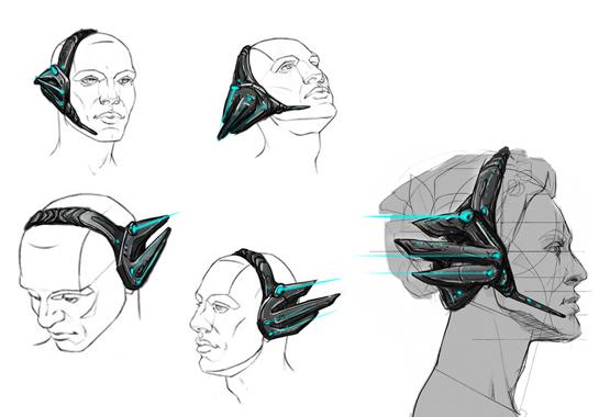 头戴式电竞耳机
